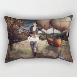 Flight of Fancy (Steampunk) Rectangular Pillow