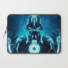 Tron Vader Blue Laptop Sleeve