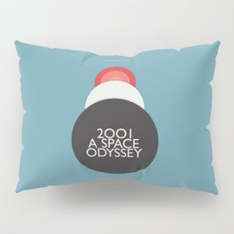 2001 a Space Odyssey - Stanley Kubrick, minimal movie poster, rétro film playbill, sci-fi Pillow Sham