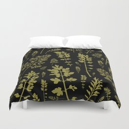 parsley forest Duvet Cover