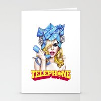 telephone Stationery Cards featuring Telephone by Denda Reloaded
