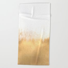 Brushed Gold Beach Towel