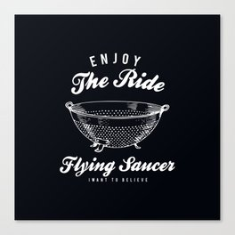 Flying Saucer Canvas Print