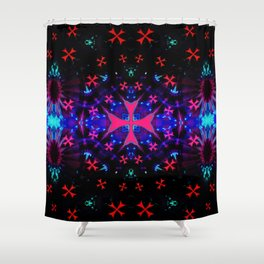 Let´s get Abstract Shower Curtain
