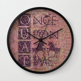 Once Upon A Time - AWESOME TV Show Wall Clock