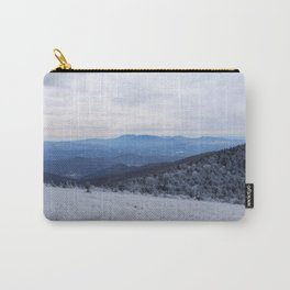 Winter at Roan Mountain Carry-All Pouch