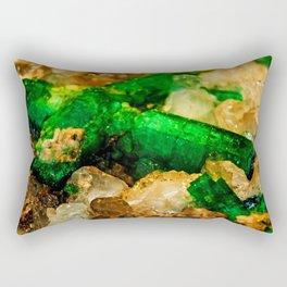 EMERALDS Rectangular Pillow