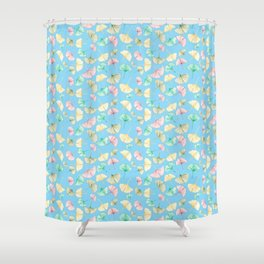 Gingko Leaves Shower Curtain