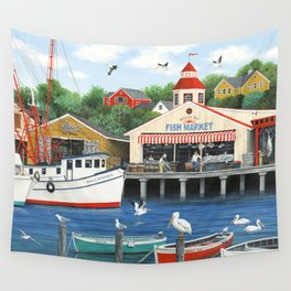 Pelican Bay Wall Tapestry