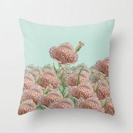 Intellegentia Plantae Throw Pillow