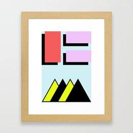 MTS Framed Art Print