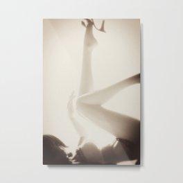 Plastic Erotica: Legs Metal Print