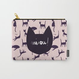 Pink Miaou ! Carry-All Pouch