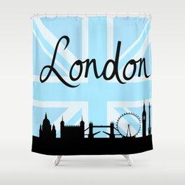 d710b349a4 British Flag Shower Curtains