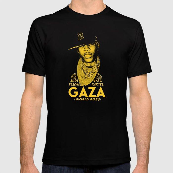 VYBZ KARTEL WORLD BOSS T-shirt by pablodubfaya