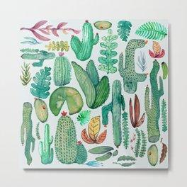 Watercolor Nature Metal Print