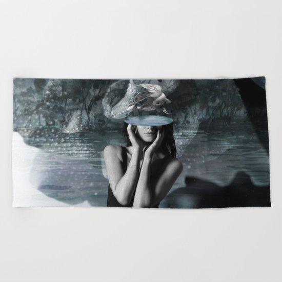 Fish Head Beach Towel
