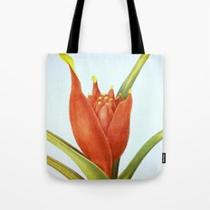 II. Vintage Flowers Botanical Print by Pierre-Joseph Redouté - Tropical Tote Bag