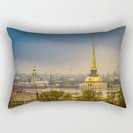 Saint Petersburg Admiralty Rectangular Pillow