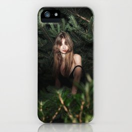Searching for a Rabbit Hole iPhone Case