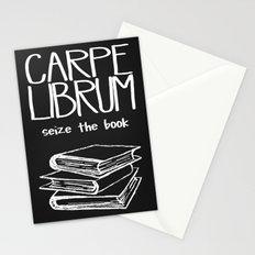 Carpe Librum Stationery Cards