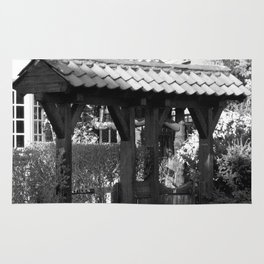 Wooden Gate Archway Rug