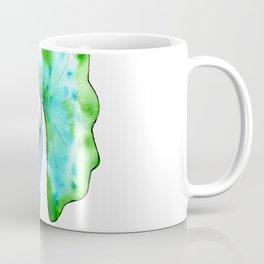 green and blue fish Coffee Mug