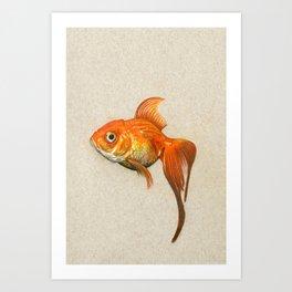 """Goldie"" Art Print"