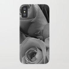 Roses Black & White #4 Slim Case iPhone X