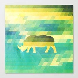Orion Rhino Canvas Print