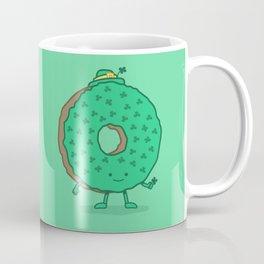 The St Patricks Day Donut Coffee Mug
