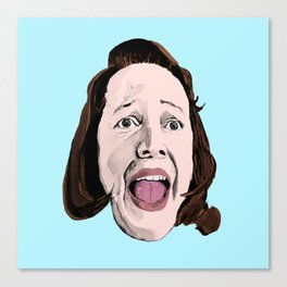 Crazy Annie Wilkes - Misery (Blue) Canvas Print
