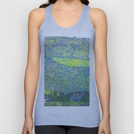"Gustav Klimt ""Litzlberg on Lake Attersee"" Unisex Tank Top"