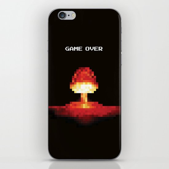 Game Over iPhone Skin