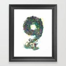 numb9r Framed Art Print
