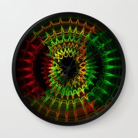reggae Wall Clocks featuring Reggae Vibe by A-Devine