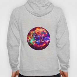 Reiki is Divine Love | The Energy it Flows | Going with the Flow Hoody