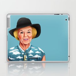 Hipstory - Queen Beatrix of the Netherlands Laptop & iPad Skin