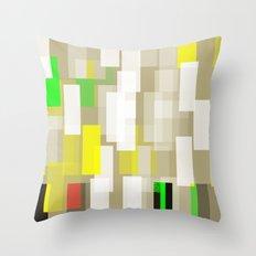 Greige Throw Pillow