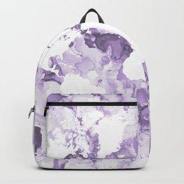 Design 109 Purple World Map Backpack