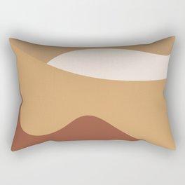MOUNTAIN DREAMS - beautiful abstract art Rectangular Pillow