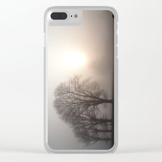 In the morning Clear iPhone Case