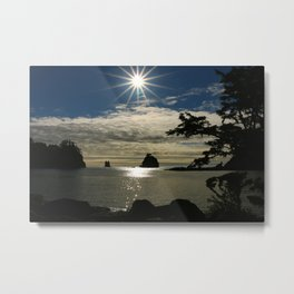 Last Sun's Rays For That Day Metal Print