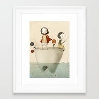 tooth Framed Art Prints featuring Tooth by Judith Loske