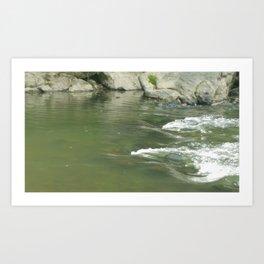 River Rapids Art Print