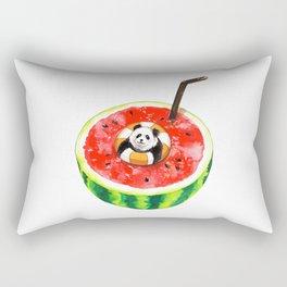 How Pandas Keep it Cool Rectangular Pillow