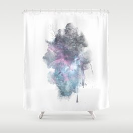 Cardiocentric Shower Curtain