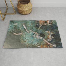 Swaying Dancer - Edgar Degas Rug