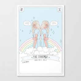 Gemini - The Charmer Canvas Print