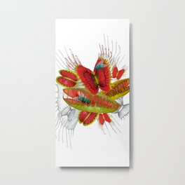 Beautiful And Deadly Metal Print